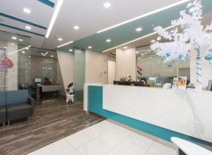 photo of Trilliant Dentistry reception desk in milton, on